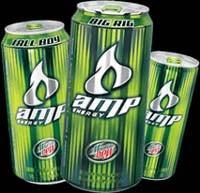 Amp Energy Over Caffeinated