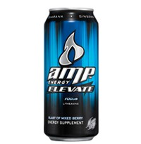 Amp Energy Elevate Over Caffeinated