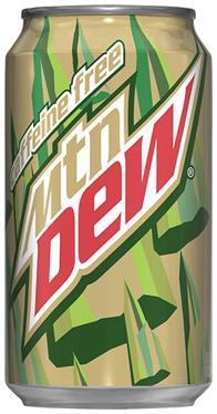 caffeine free diet mtn dew over caffeinated