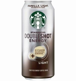 Doubleshot Energy Vanilla Light Drink Over Caffeinated
